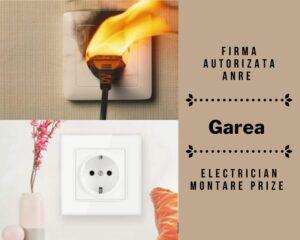 Garea - electrician montare prize